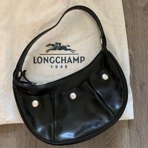 Longchamp leather pocketbook